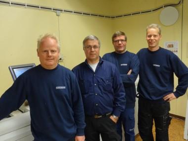 Niklas, Stefan, Roger och Fredrik