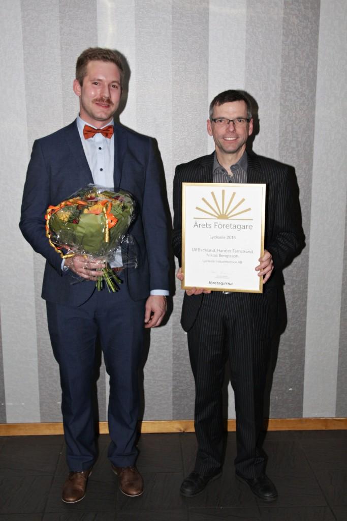 Årets Företagare 2015 - Lycksele Industriservice