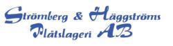 Logo Strömberg & Häggström Plåtslageri